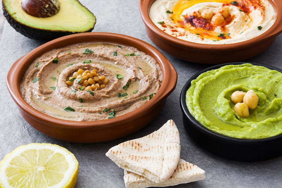 hummus spreads